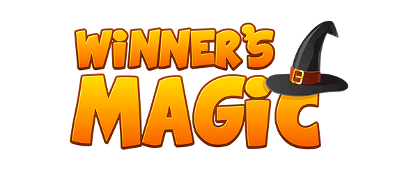 Small size winner's magic logo