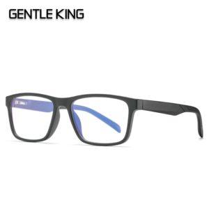 GENTLE KING TR90 Blue Light Blocking Glasses For Women Square Frame Bluelight Glasses Radiation Ccomputer Gaming Glasses