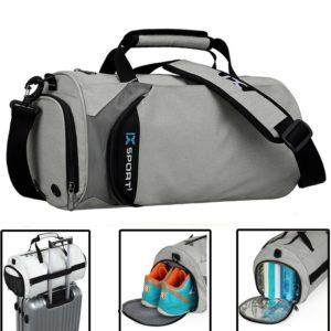 Men Gym Bags For Fitness Training Outdoor Travel Sport Bag Multifunction Dry Wet Separation Bags Sac De Sport